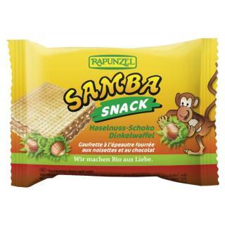 Samba Snack, Haselnuss-Schoko Schnitte
