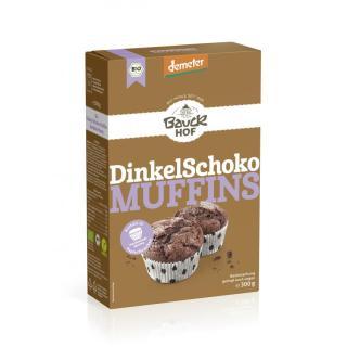 Backm Dinkel Schoko Muffins