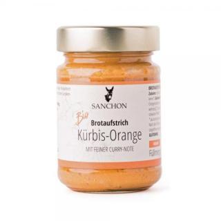 Brotaufstrich Kürbis Orange