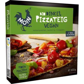 Dinkel Pizzateig, vegan