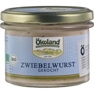 Zwiebelwurst gekocht Gourmet Qualität im Glas