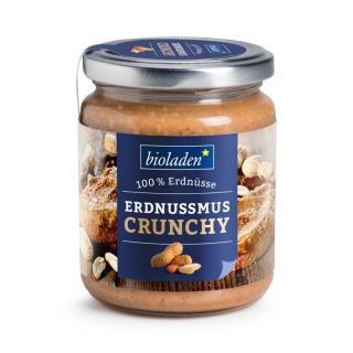 b*Erdnussmus Crunchy