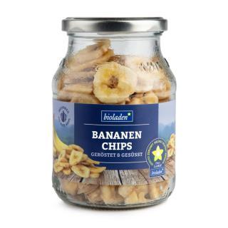 b*Bananenchips geröstet & gesüsst