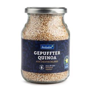 b*Gepuffter Quinoa