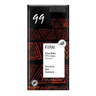 Feine Bitter mit 99% Cacao