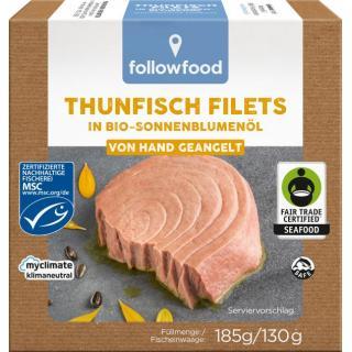 Thunfisch in Sonnenblumenöl