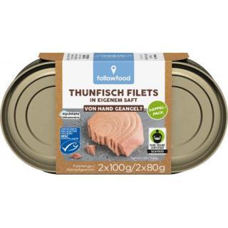 Thunfisch im eigenen Saft Natur Duopack MSC