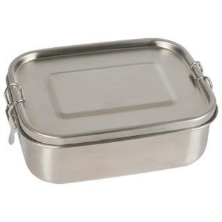 Edelstahl-Lunchbox mit Trennsteg und Dichtung