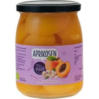 Aprikosen halbe Frucht