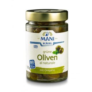 Grüne Oliven al Naturale