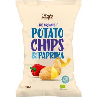 Chips Paprika Kartoffel