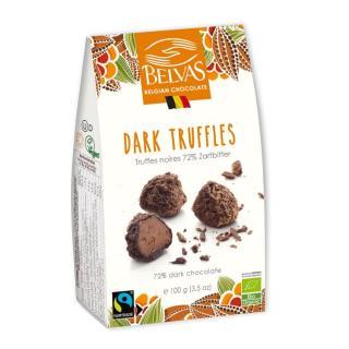 Praline Dark Truffles 72 %