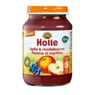 Apfel Heidelbeere