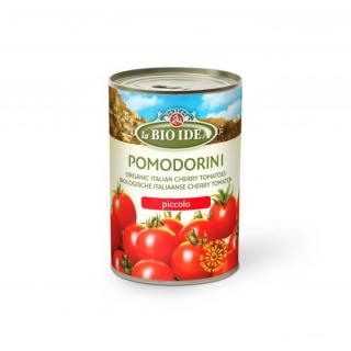 Geschälte Kirschtomaten in Tomatensaft